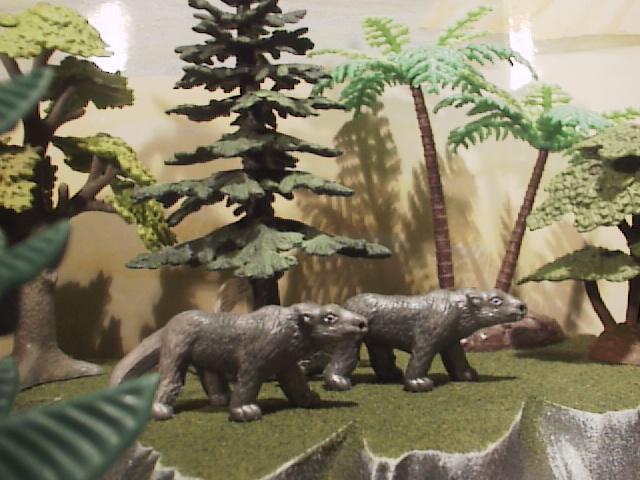 Photographs Of Four Dinosaur Bones Or Bone Sets From The Paleocene Ojo Alamo