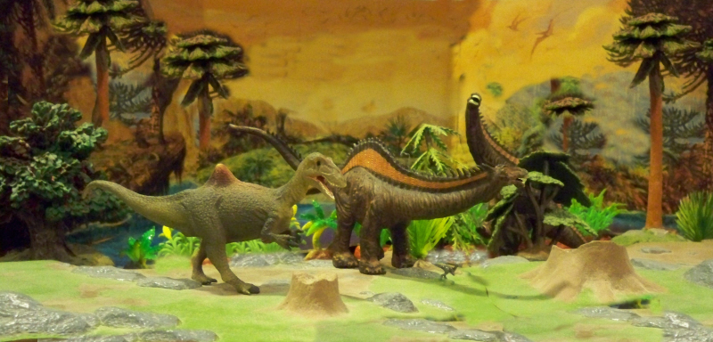 CollectA Concaventor and Rebbachisaurus