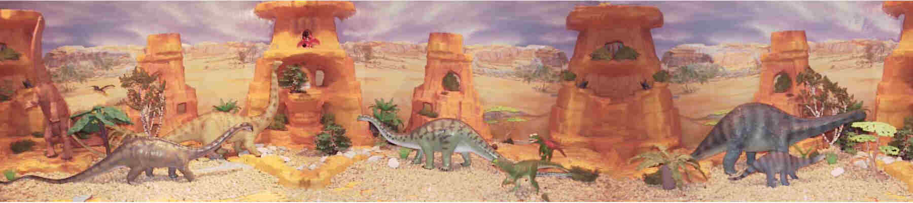Diplodocus, Battat, Invicta and Safari Carnegie.  Ceratosaurus Battat and a Wild Safari. Schleich adult and baby Apatosaurus