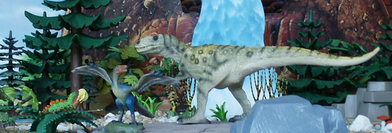 Allosaurus Stegosaurus...
